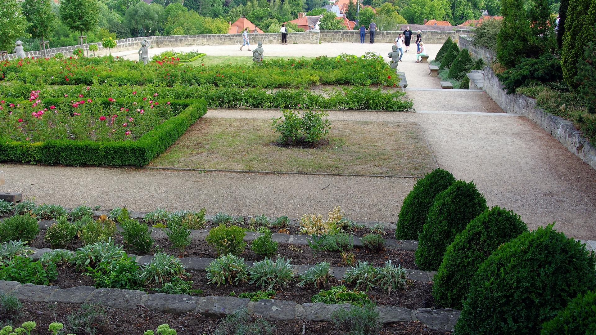 Schlossgarten Quedlinburg