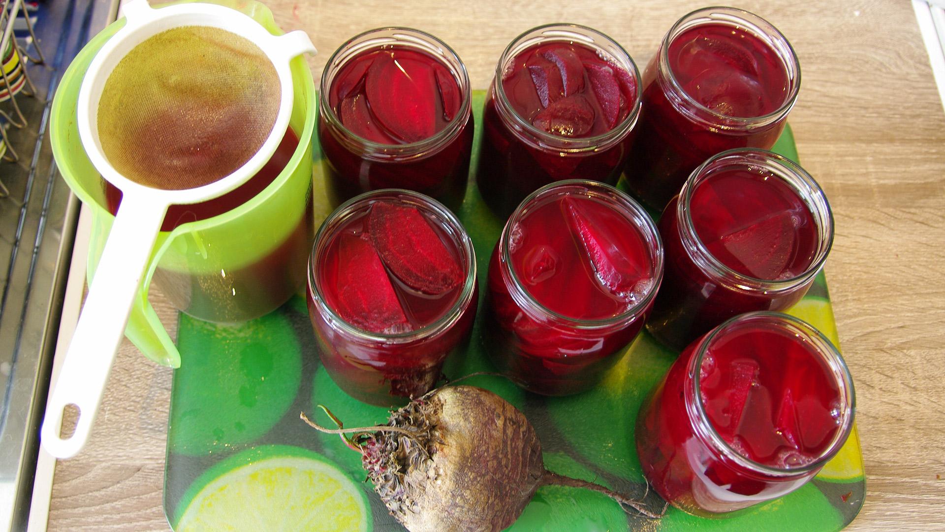 Rote Bete Süß-Sauer