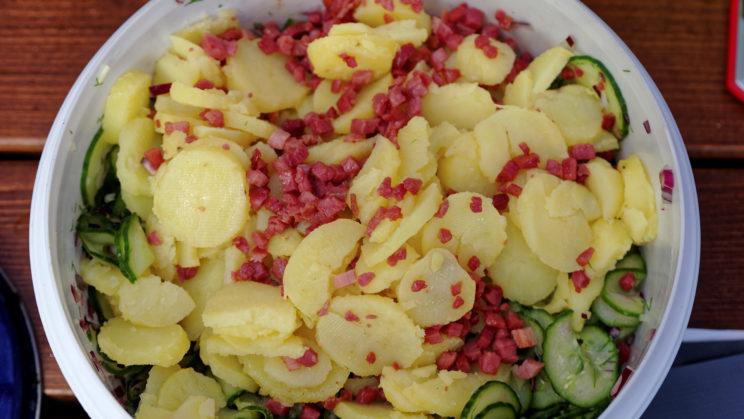 Gurkenkartoffeln